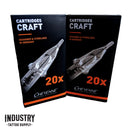 Round Shader Cheyenne Craft Cartridges (box of 20) - new model release