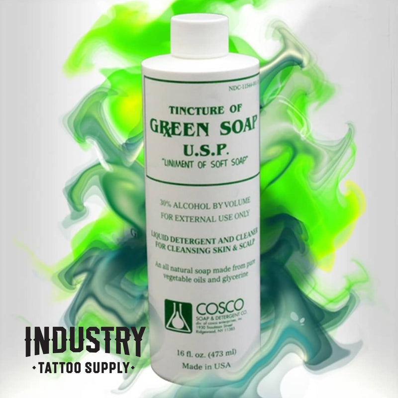 Cosco Green Soap - 16oz/473ml bottle