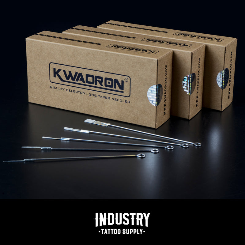 Kwadron Round Liner long taper - Traditional Needles (box of 50)