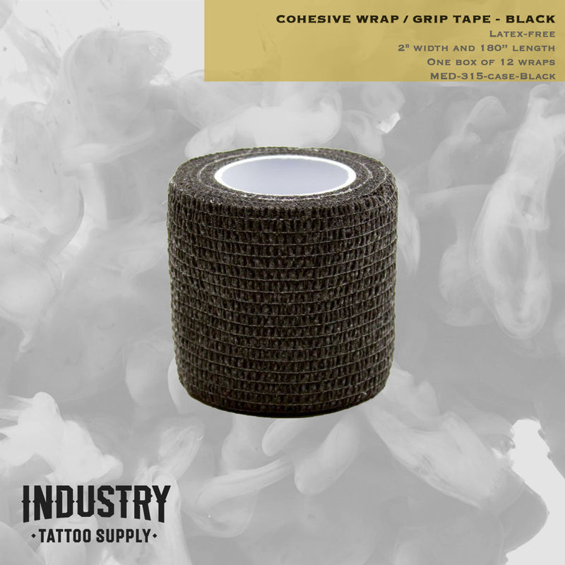 Cohesive Wrap (Grip Tape) - box of 12 (4.5m x 5cm)