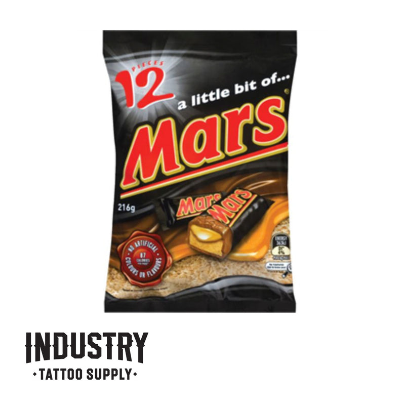 Mars funsize 216g (one box of 12 funsize bars)