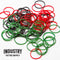 Rubber Bands - Bag of 100 Mixed Colour