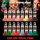 16 Color Oleg Shepelenko Color Realism Set 1oz - 16 bottles