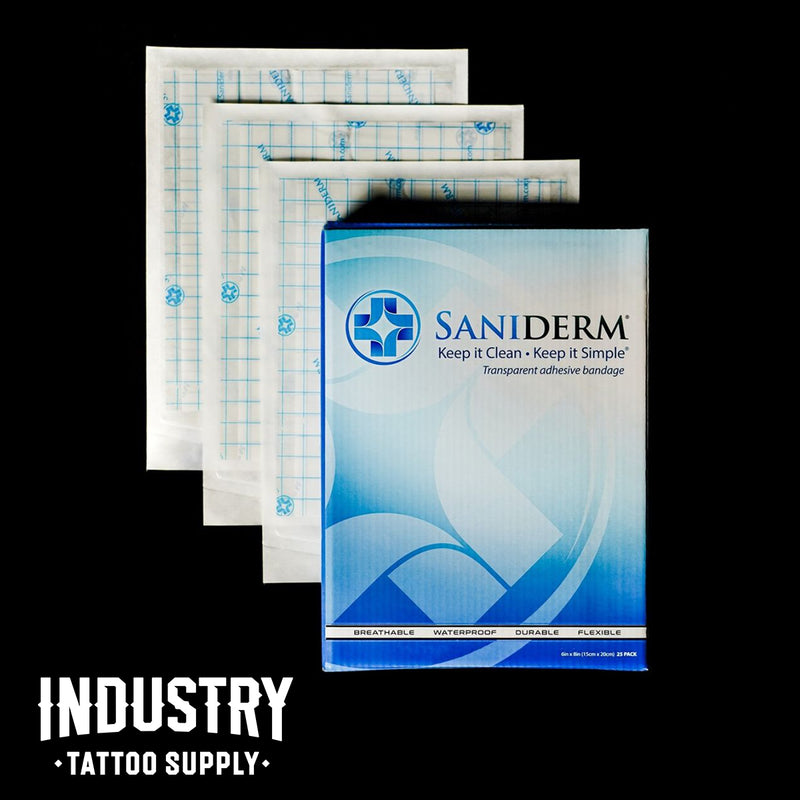 Saniderm 6 inch x 8 inch Personal Pack