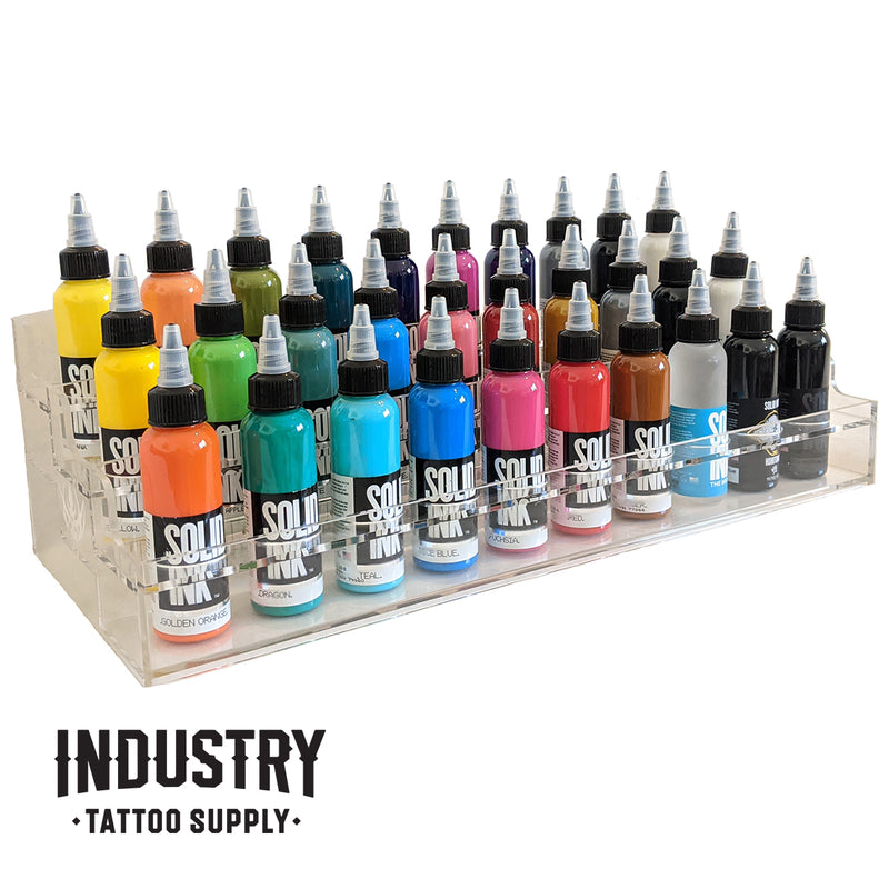 4oz ink bottle holder / rack - 30 bottles
