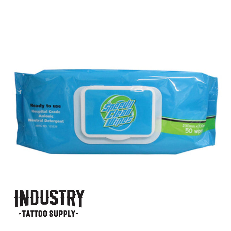 Speedy Clean Wipes (50 wipe pack)