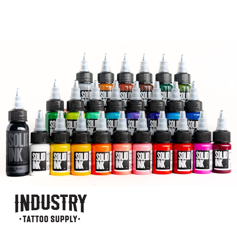 Solid Ink: 0.5oz 25 Colour Travel Set