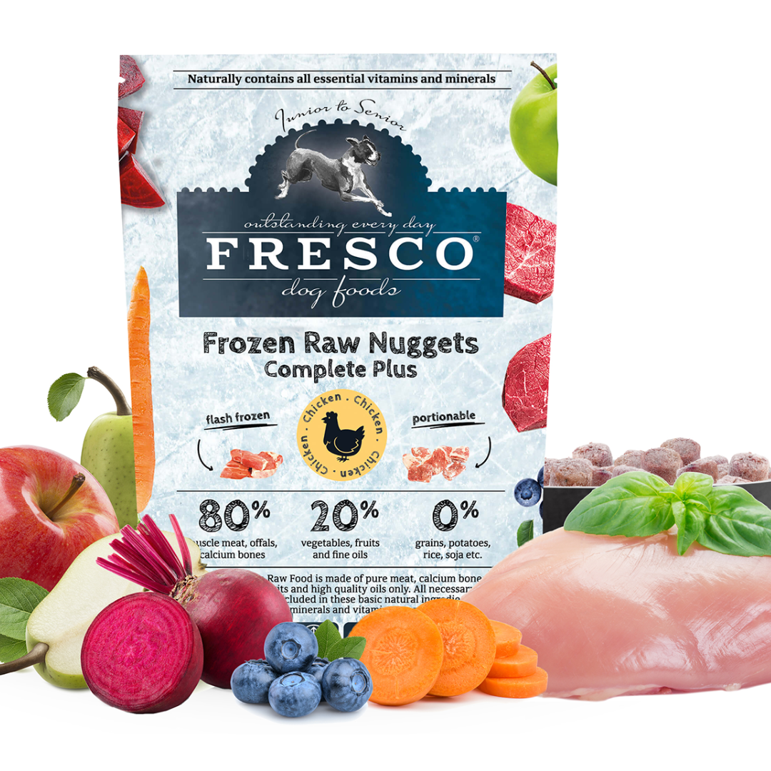 Frozen Raw Nuggets for Dogs
