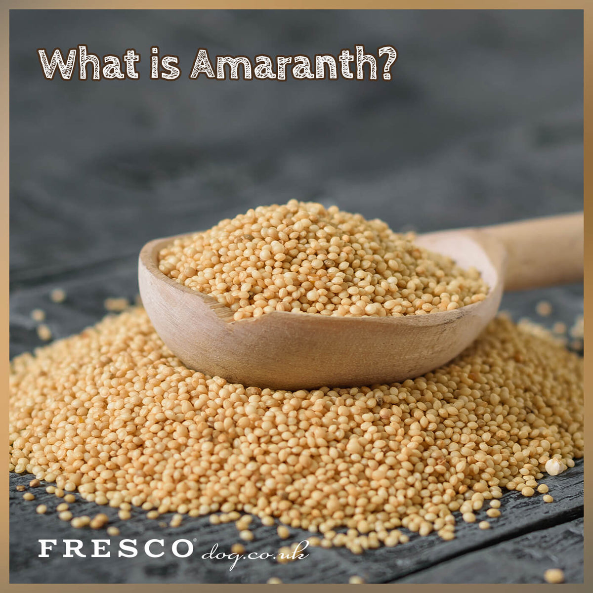 Amaranth in dog food?......YES please