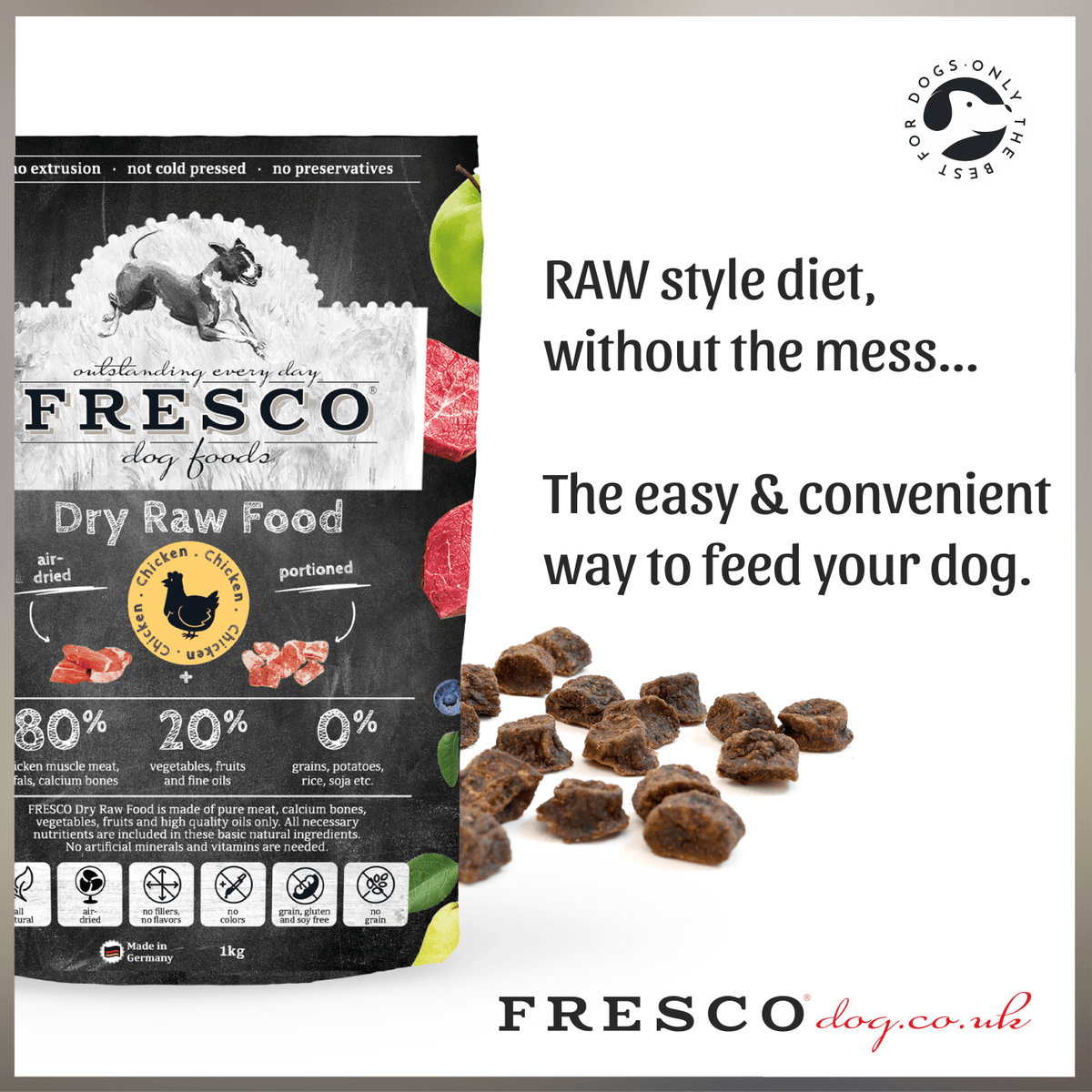Unique, Super Healthy & Nutritious.......FRESCO Dry RAW!