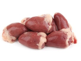 Fresh chicken heart