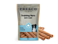A packet of rabbit training bars