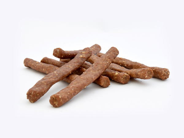 Beef Sticks with Pizzle Meat, Bacon & Cheese 12cm