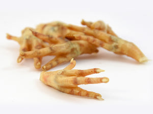 chicken feet pieces
