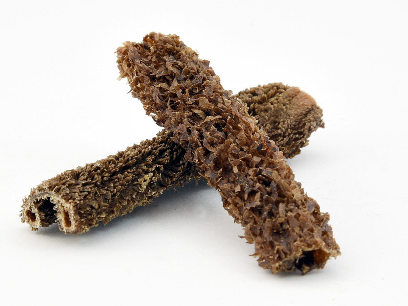 2 natural beef tripe sticks