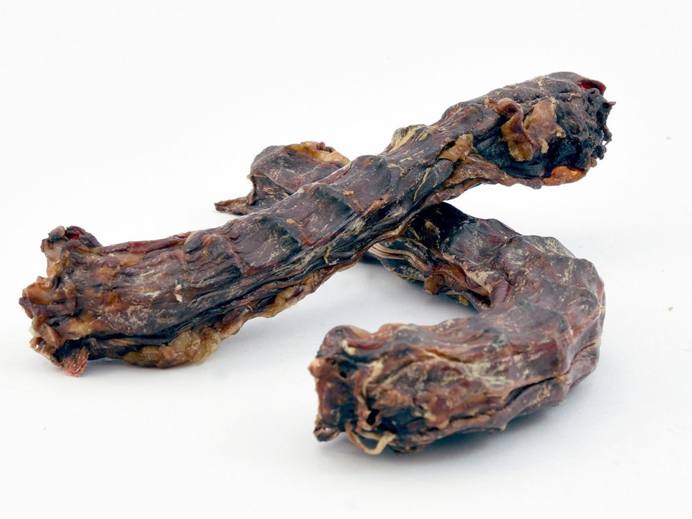 2 air-dried duck necks