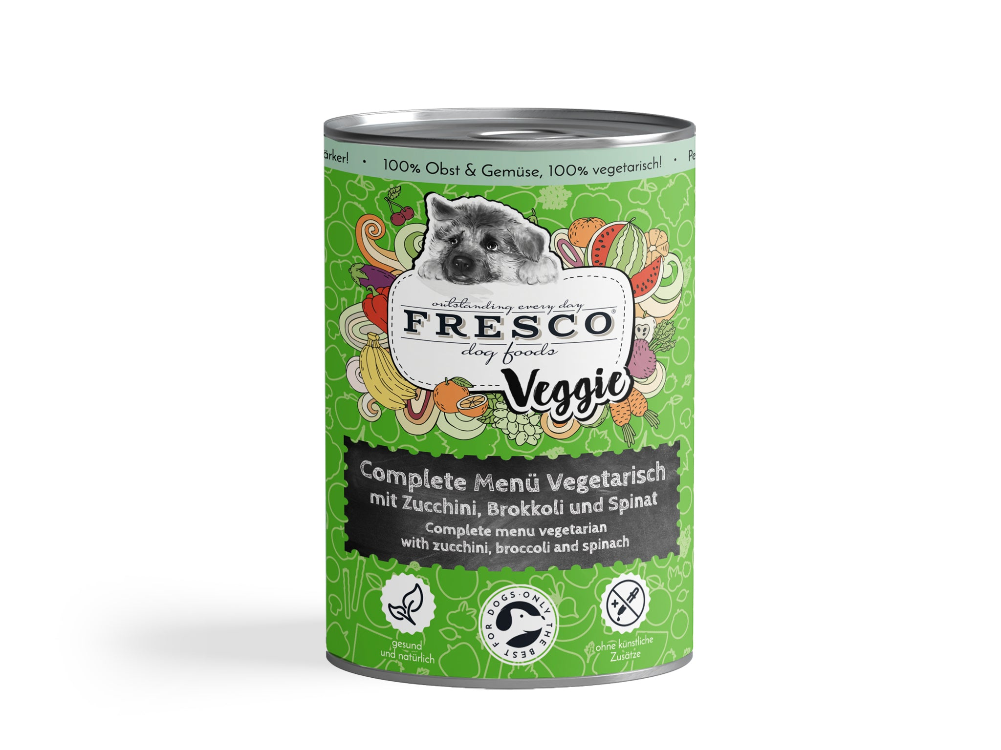 "FRESCO ""Simply Veggies"" with Courgette, Broccoli & Spinach"