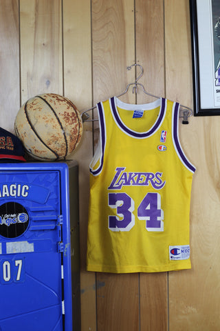 Vintage 90s Champion Lakers Jersey- Shaquille Oneal