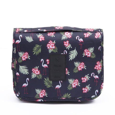 Neon Flamingo Travel Bag
