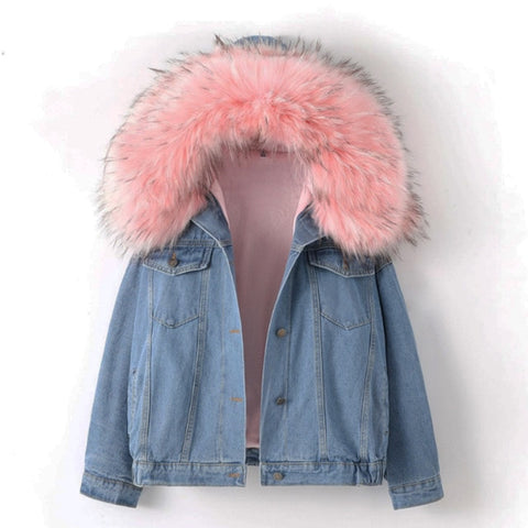 Pink Winter Denim