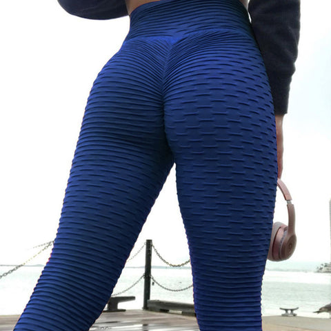 Deep Blue Winter Leggings