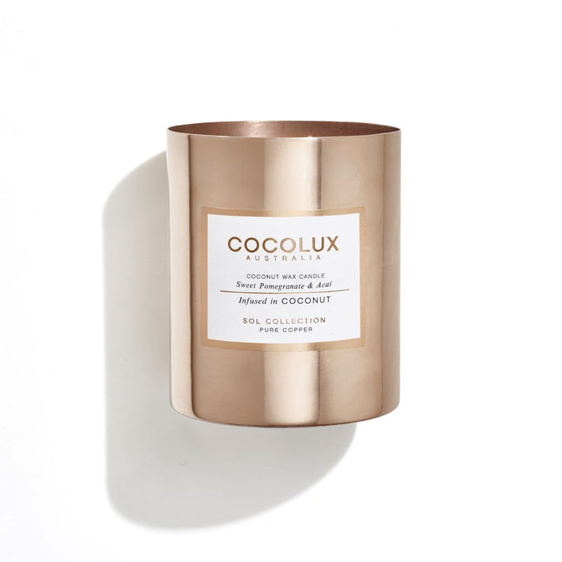 Cocolux Candle-Sweet Pomegranate & Acai