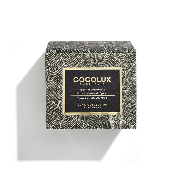 Cocolux Candle-Exotic Amber & Spice