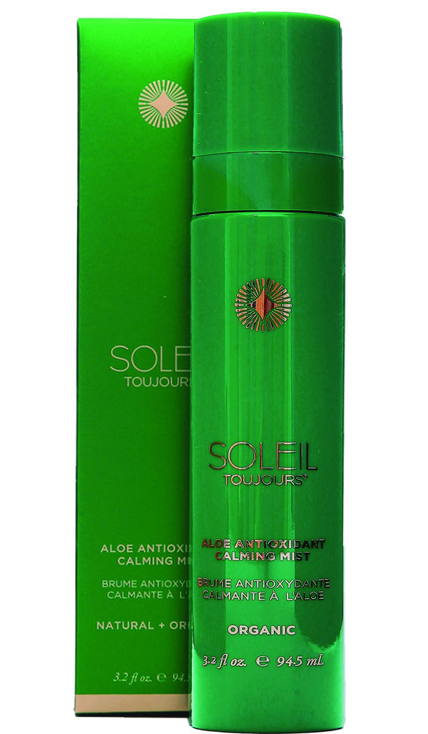 Aftersun: Organic Aloe Antioxidant Calming Mist