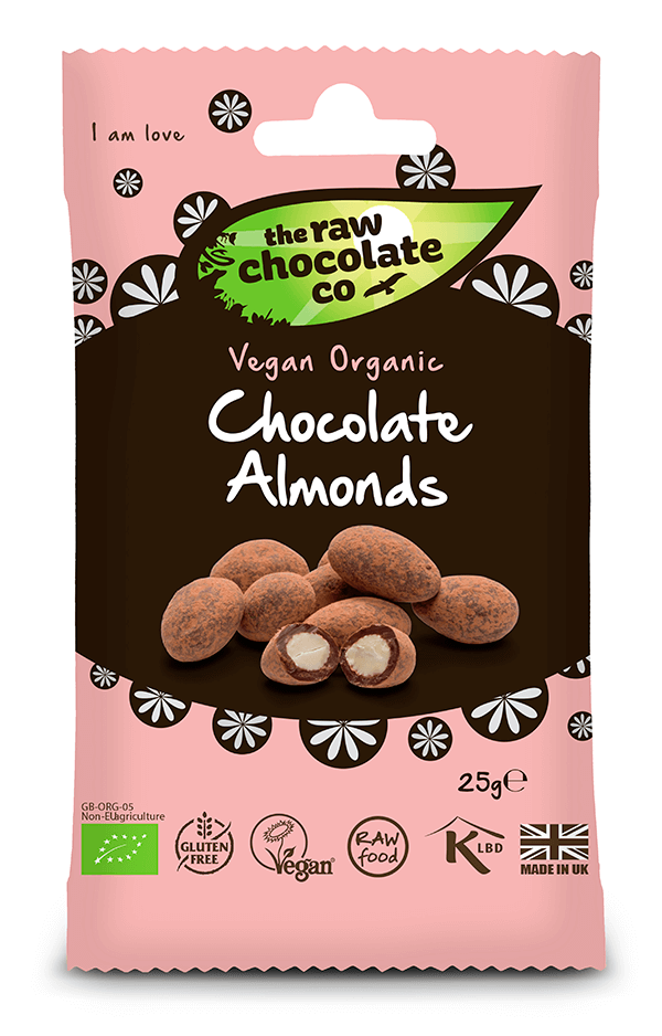 Snack Pack Raw Chocolate Mandler 25g