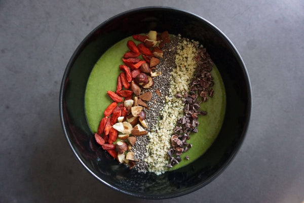 Matcha Bowl - Sort/blå