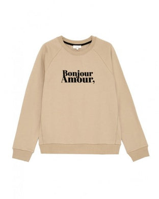 sweat BASTIEN - beige