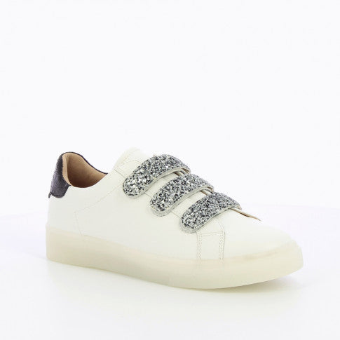 Sneakers « White and Glitter »