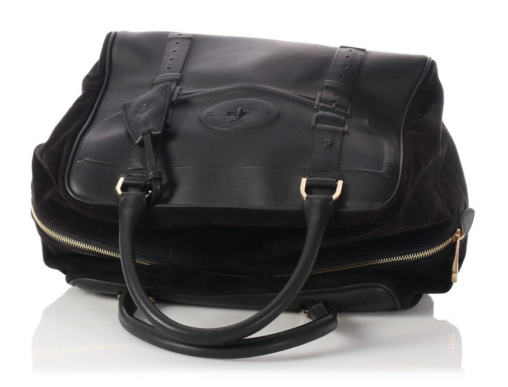 Mulberry Oversized Maisie Clipper Black