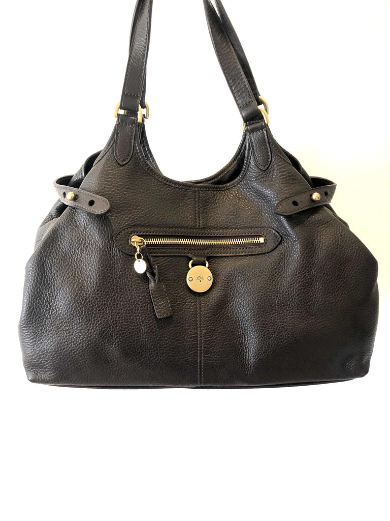 Mulberry Somerset Tote Bag Chocolate