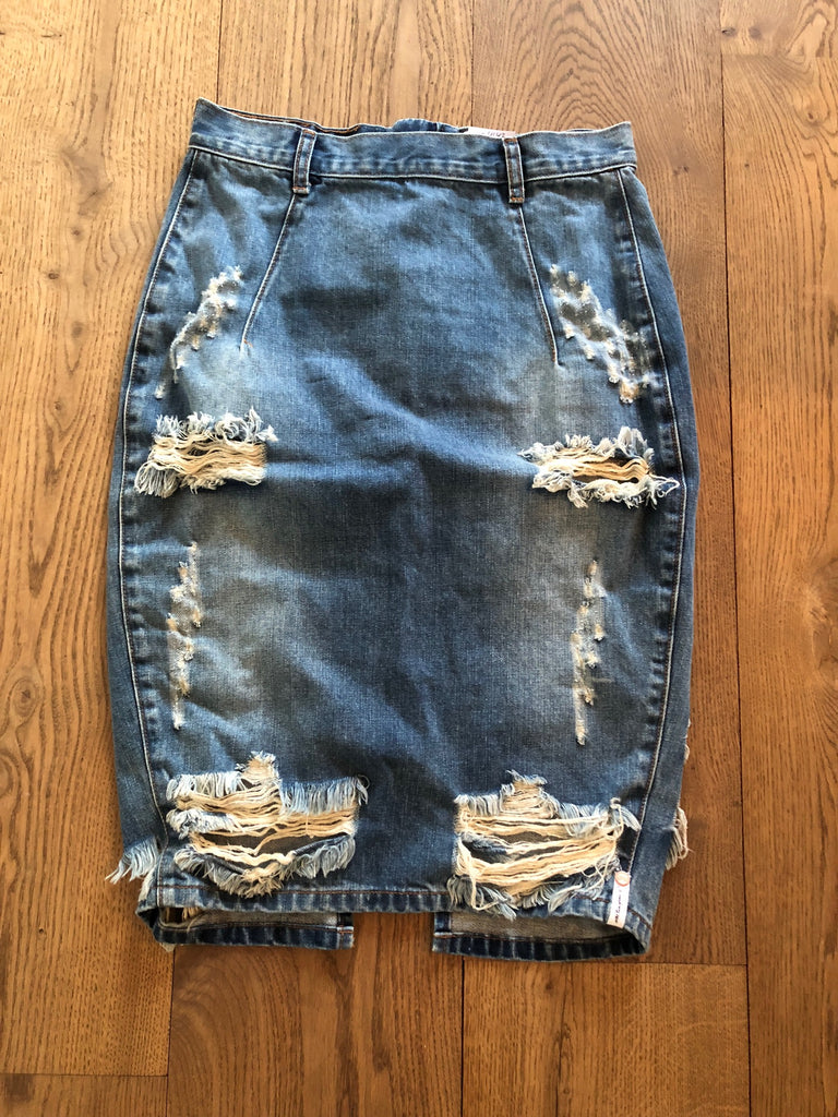 One X Onetteaspoon denim nederdel