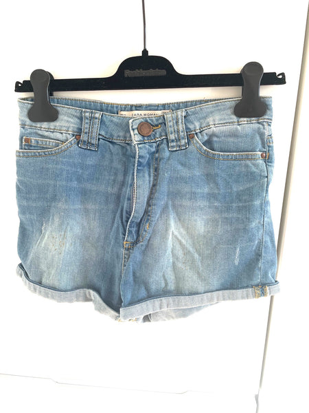 Zara korte denim shorts
