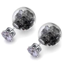 Load image into Gallery viewer, Stardust Bubble Earrings Grey - 50%OFF