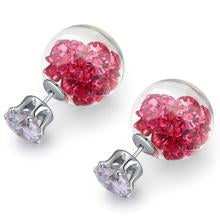 Stardust Bubble Earrings Pink - 50%OFF
