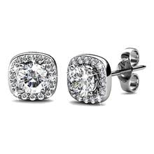 Lux Studs Embellished with Swarovski Crystals - 40%OFF