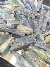Load image into Gallery viewer, Crystalized Blue Kyanite - 3 Stones