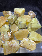 Load image into Gallery viewer, Yellow Opal Rough - 3 Stones
