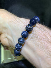 Load image into Gallery viewer, Black Sardonyx Bracelet