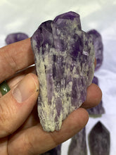 Load image into Gallery viewer, Amethyst Elestial Torch - Medium
