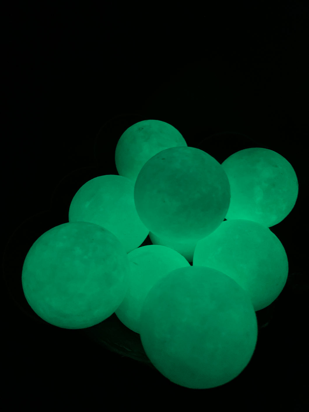 Glow in the dark Calcite Sphere - Large