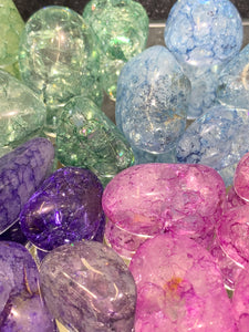 Crackle Quartz Tumbled - 4 Stones