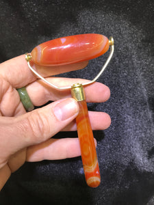 Carnelian  Facial Massage Roller