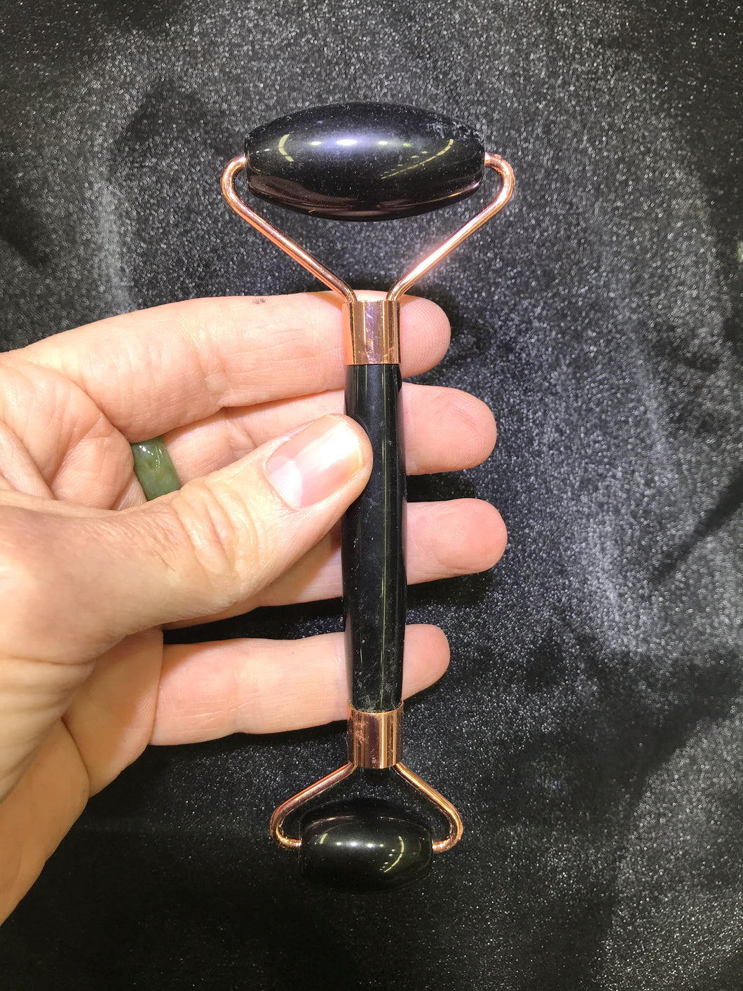 Black Onyx  Facial Massage Roller
