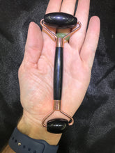 Load image into Gallery viewer, Black Onyx  Facial Massage Roller