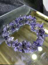 "Load image into Gallery viewer, Iolite  Chips Bracelet (""A"" Quality)"