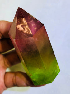 Yellow Ray Crystal Point